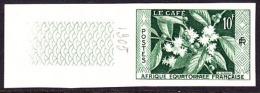 French Equatorial Africa (1956) Coffee.[b]  Trial Color Proof.  Scott No 193, Yvert No 236. - A.E.F. (1936-1958)