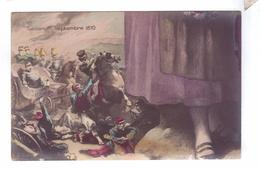 ALSACE LORRAINE SEDAN 1870  Carte Geante Types Croissant Ch Fontane - Lorraine