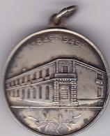 1849-1949, CENTENARIO DEL CLEGIO DEL URUGUAY. IN HOC SIGNO VINCES. MEDALLA.-BLEUP - Andere