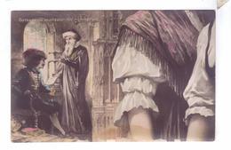 ALSACE LORRAINE Gutenberg Inventeur Imprimerie Carte Geante Types Croissant Ch Fontane - Lorraine