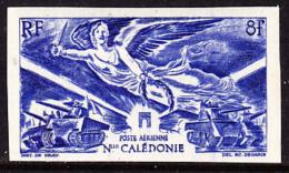 New Caledonia (1946) Winged Victory. Imperforate.  Scott No C14, Yvert No PA54. - Non Dentelés, épreuves & Variétés