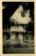 N°644 RRR LR 10 AFRIQUE SAINT DENIS BATIMENT DE L ANCIEN HOPITAL MILITAIRE - Postcards