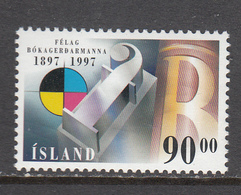 Iceland MNH Michel Nr 874 From 1997 / Catw 2.50 EUR - 1944-... Republique