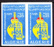 Algeria (1964) 1st Algerian Fair. Imperforate Pair.  Scott No 332, Yvert No 401. - Algeria (1962-...)