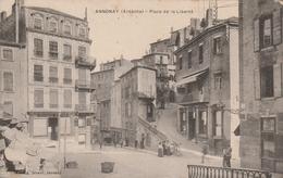 France Carte Postale Annonay Place De La Liberté - Annonay
