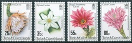 1981 Turks E Caicos Cactus Fiori Flowers Blumen Fleurs MNH** Ye138 - Turks And Caicos