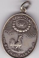 POLICIA BUENOS AIRES. FACSIMIL MEDALLA 1830. J PACA. MEDALLA.-BLEUP - Andere