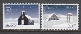 Iceland MNH Michel Nr 998/99 From 2001 / Catw 2.50 EUR - Neufs