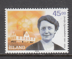 Iceland MNH Michel Nr 1011 From 2002 / Catw 1.50 EUR - Neufs