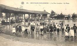 Schaerbeek - Au Parc Josaphat - La Plage (top Animation, 1923) - Schaerbeek - Schaarbeek