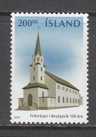 Iceland MNH Michel Nr 1033 From 2003 / Catw 5.50 EUR - Neufs