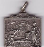 BOLSA DE COMERCIO DE BS AS FUNDADA 1854, INAGURACION EDIFICIO 1916. PLAQUETA.-BLEUP - Andere