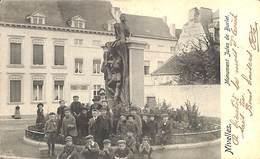 Nivelles - Monuent Jules De Burlet (belle Animation, 1909) - Nivelles