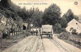 Maredsous - Entrée Du Tunnel (animée, Attelage, 1908) - Anhée