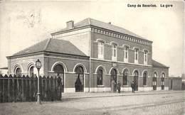 Camp De Beverloo - La Gare (animée, Edit. A. Aerts, 1909) - Leopoldsburg (Camp De Beverloo)