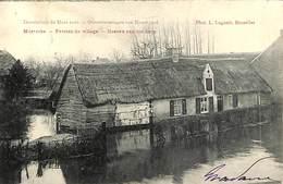 Moerzeke - Overstroomingen 1906 - Hoeven Van Het Dorp (Phot. L Lagaert 1908) - Hamme