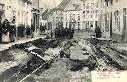 Louvain Leuven - Cataclysme 1906 - Rue De Tervueren (top Animation, L. Lagaert) - Leuven
