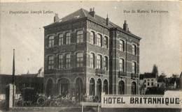 Tervueren - Tervuren - Hôtel Britannique (top Animation, Oldtimer, Henri Bertels, 1912) - Tervuren