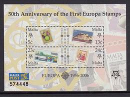 Malta MNH Michel Nr Block 32 From 2006 / Catw 3.50 EUR - Malta
