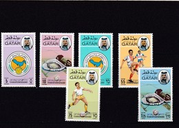 Qatar Nº 319 Al 324 - Qatar