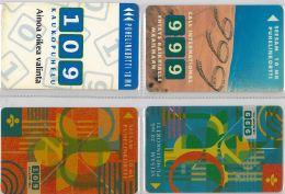 LOT 4 PHONE CARD-   FINLANDIA (E15.4.1 - Finlandia