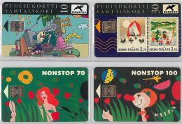 LOT 4 PHONE CARD-   FINLANDIA (E15.10.1 - Finlandia