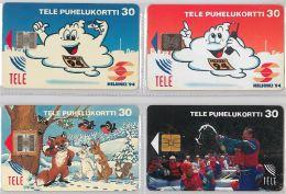 LOT 4 PHONE CARD-   FINLANDIA (E15.11.1 - Finlandia