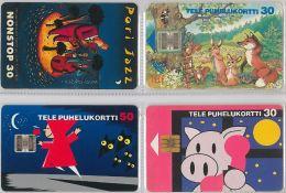 LOT 4 PHONE CARD-   FINLANDIA (E15.11.5 - Finlandia