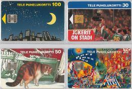LOT 4 PHONE CARD-   FINLANDIA (E15.12.1 - Finlandia