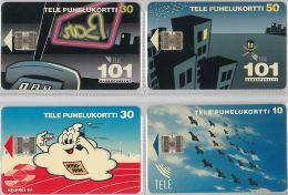LOT 4 PHONE CARD-   FINLANDIA (E15.12.5 - Finlandia