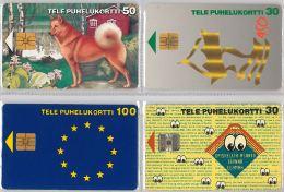 LOT 4 PHONE CARD-   FINLANDIA (E15.14.5 - Finlandia