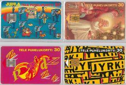 LOT 4 PHONE CARD-   FINLANDIA (E15.15.1 - Finlandia