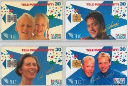 LOT 4 PHONE CARD-   FINLANDIA (E15.13.5 - Finlandia