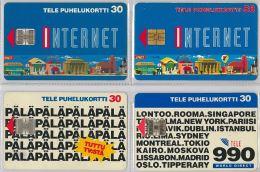 LOT 4 PHONE CARD-   FINLANDIA (E15.15.5 - Finlandia