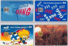 LOT 4 PHONE CARD-   FINLANDIA (E15.16.5 - Finlandia
