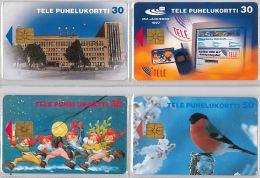LOT 4 PHONE CARD-   FINLANDIA (E15.17.5 - Finlandia