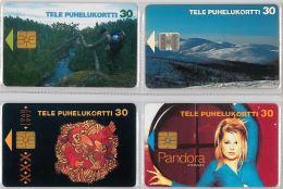 LOT 4 PHONE CARD-   FINLANDIA (E15.18.1 - Finlandia