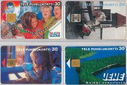 LOT 4 PHONE CARD-   FINLANDIA (E15.18.5 - Finlandia