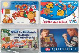 LOT 4 PHONE CARD-   FINLANDIA (E15.19.5 - Finlandia