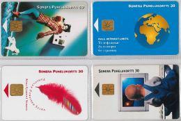 LOT 4 PHONE CARD-   FINLANDIA (E15.20.5 - Finlandia