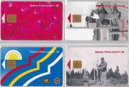 LOT 4 PHONE CARD-   FINLANDIA (E15.22.5 - Finlandia