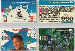 LOT 4 PHONE CARD-   FINLANDIA (E15.27.3 - Finlandia