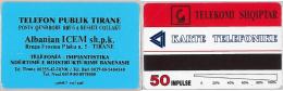 PHONE CARD  ALBANIA -URMET (E16.1.3 - Albania