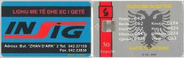 PHONE CARD  ALBANIA (E16.1.5 - Albania