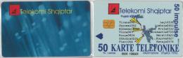 PHONE CARD  ALBANIA (E16.1.8 - Albania