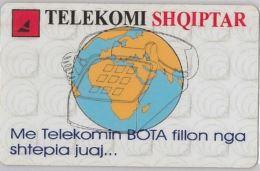 PHONE CARD  ALBANIA (E16.2.4 - Albania