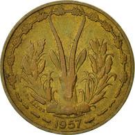 Monnaie, French West Africa, 10 Francs, 1957, Paris, TTB, Aluminum-Bronze, KM:8 - Ivory Coast