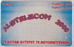 PHONE CARD  ALBANIA (E16.4.6 - Albania