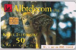 PHONE CARD  ALBANIA (E16.5.3 - Albania