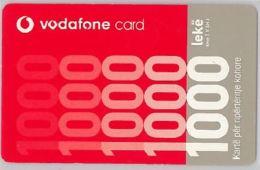 PREPAID PHONE CARD ALBANIA -VODAFONE (E16.5.5 - Albania